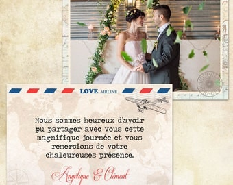 Wedding Thanks - Travel 2 -