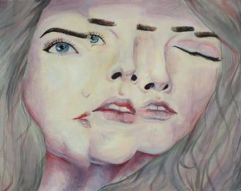 Violet Haze, Fractal Portrait