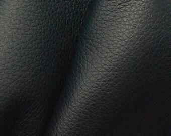 """NZ Deer Sale Dark Ocean Teal Leather New Zealand Deer Hide 4"""" x 6"""" Pre-cut 2 1/2-3 ounces -14 DE-66119 (Sec. 3,Shelf 5,A,Box 4)"""