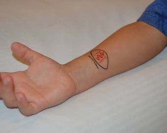 28 Medical/Allergy Alert Temporary Tattoos