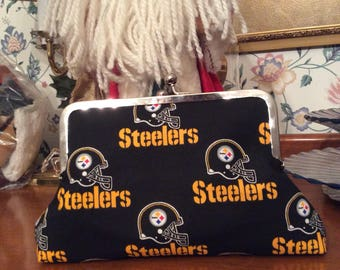 Pittsburgh Steelers Clutch Purse Handbag