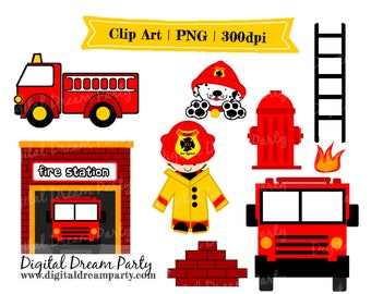 Fire Fighter Clipart PNG High Quality Commercial Use
