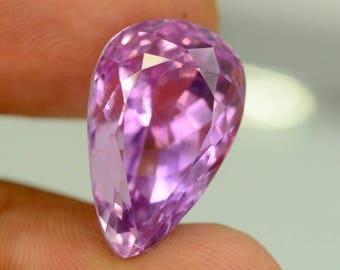20.65 cts Flawless Hot Pink Kunzite Gemstone