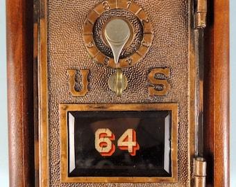 1900 Post Office Box Door Bank