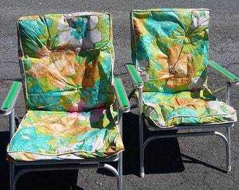 Folding Aluminum Lawn Chairs