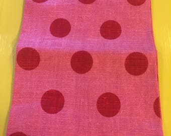 Vintage NOS Linen dish towel