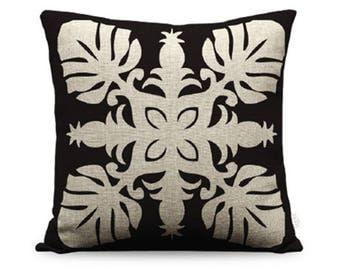 20x20in Pineapple Quilt Linen Pillow