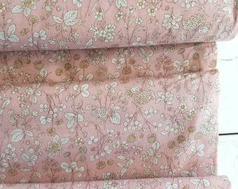 Memoire a Paris Cotton Lawn 2017 - Wildflower(Pink) - Lecien - Japan, Inc