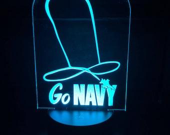 NAVY Penis Skywriting LED lamp