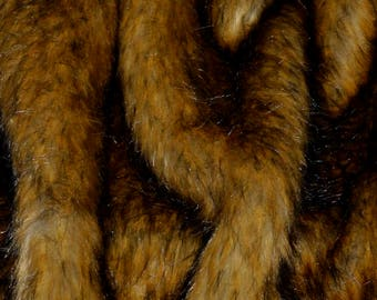 "Faux Fur Remnant 72"" x 6"", Craft Fur, Faux Fur Fabric, Fur Scraps, Costume Fur, Cosplay"