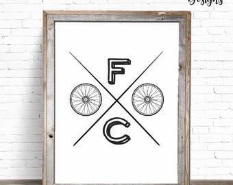FOCO | Fort Collins Digital Art Print