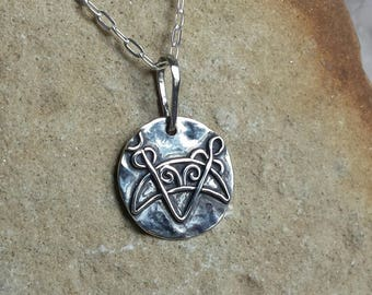 Sterling Silver Pictish Pendant