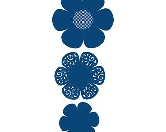 Tattered Lace Dies ~ Lavish Blooms Poppy TTLD288