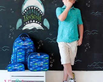 Jaw-Some Collection Collection - Backpack/Lunch Box/Pencil Case