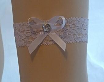 Precious Bow Bridal Wedding Garter