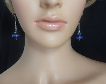Beautiful Lapis Lazuli Drop Earrings