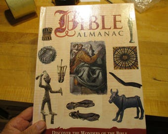Bible Almanac table book 1997
