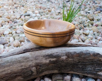 Hand turned bowl from driftwood