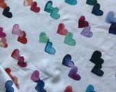 Watercolor hearts - Spring Cleaning
