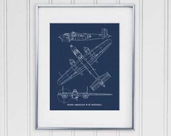 Datsun 240z blueprint decor 240z blueprint art datsun 240z b25 mitchell blueprint b 25 mitchell blueprint art b25 bomber aircraft malvernweather Choice Image