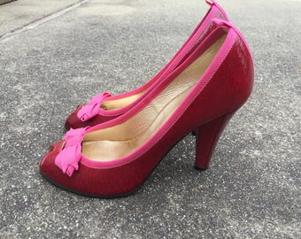 Marc Jacobs Adorable Pink/Red Shoes Women's Size 7