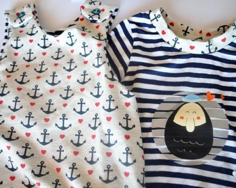 "New Born Set ""Little Sailor"""