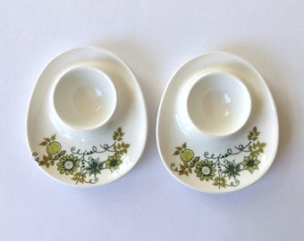 A set of two Figgjo Market Egg Cups