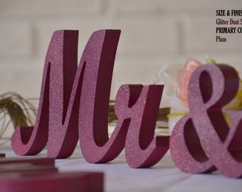 mr and mrs sign, mr and mrs wall decor, mr and mrs table sign, mr and mrs wedding gift
