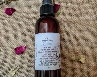 Aromatherapy Lavender Chamomile Spray | Oil Diffuser Blend | Yoga Mat Spray | Lavender Essential Oil | Therapeutic Essential Oil