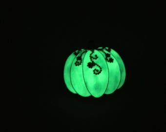Glow in the Dark Pumpkin Needle Minder