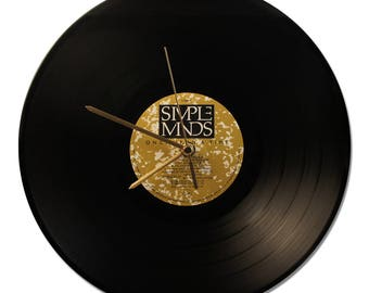 "CLOCK VINYL SIMPLE MINDS ""ONCE UPON A TIME"" 33tours"