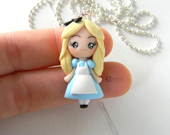 Alice in wonderland inspired, Necklace