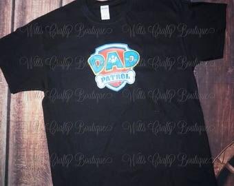 Dad Patrol Paw Patrol T-shirt