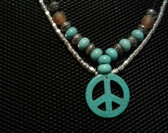 Turquoise inspired Necklace