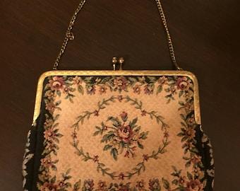 Vintage tapestry purse.