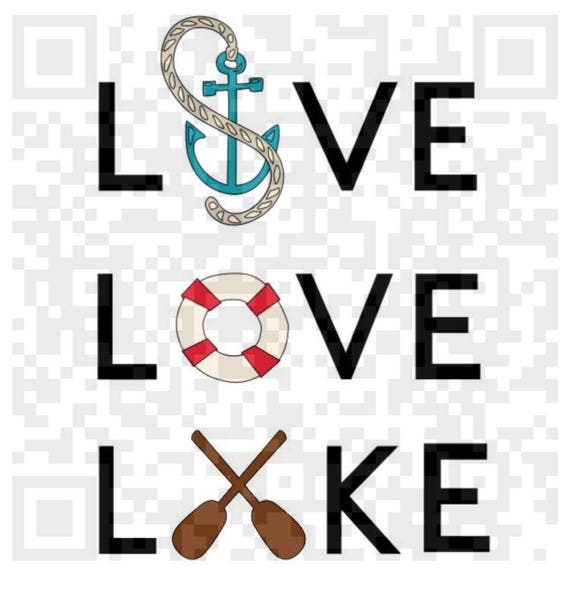 Live Love Lake PNG, Live Love Lake Jpeg, Png, Cricut Print and Cut file, Print File