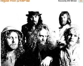40% OFF Sale Jethro Tull (Band) Drawing T-Shirt