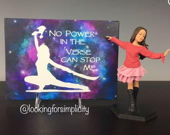 No Power in the 'Verse Can Stop Me Serenity Firefly Inspired Canvas Panel Wall Art with Fan Favorite Quote