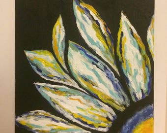 Acrylic Painting - Flower