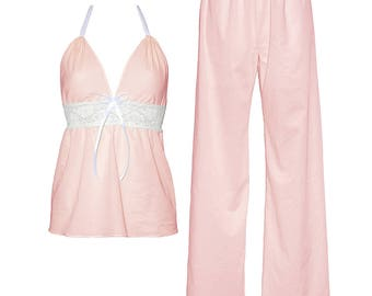 Lullaby long set in pink