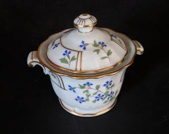 Bernardaud 'Bleuets' Sugar Bowl