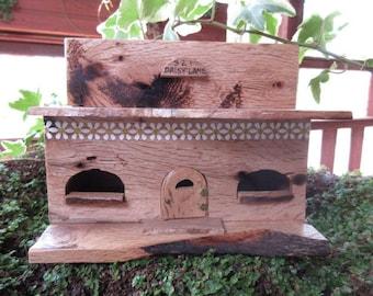 Fairy Garden Planter Daisy Lane Cottage miniature house door OOAK