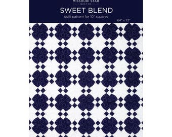 Sweet Blend Quilt Pattern by the Missouri Star Quilt Company