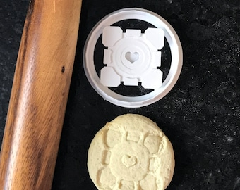Companion Cube Cookie Cutter