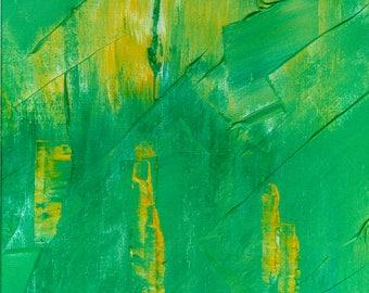 Oil painting, minimal art original abstract 177 E
