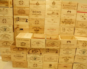 Wine Crates, Wine Boxes Standard 6-Bottle Size
