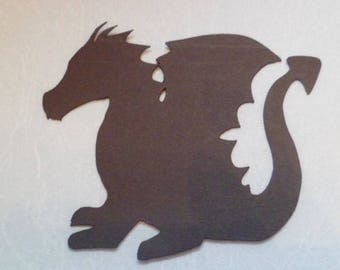Die Cut Dragon x 5