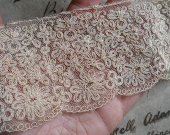5 yards vintage lace trim