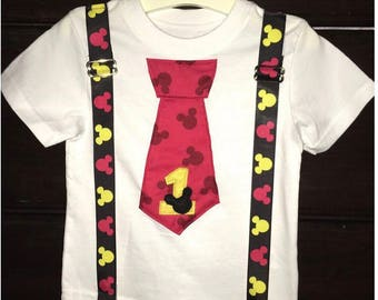 Mickey Mouse Birthday Shirt