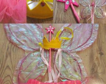 Children's fairy princess costume